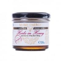 Билки в пчелен мед с плод аспарагус Mami Energy150гр.
