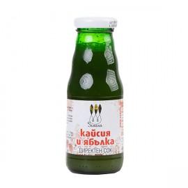 Директен сок от ябълка и кайсия 200мл.
