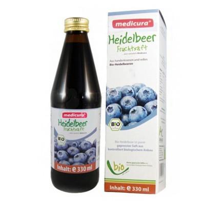 Medicura - БИО сок от Черна Боровинка 330мл.