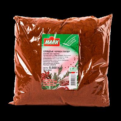 Мани - Сладък Червен Пипер 500 гр.